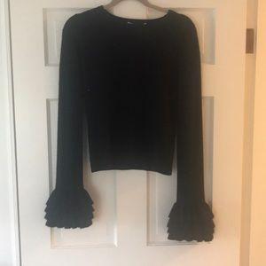 Alice & Olivia black cashmere sweater